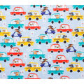 Super Snuggle Flannel Fabric-Driving Dogs