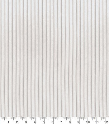 P/K Lifestyles Upholstery Fabric 54''-Cream Corduroy Fur