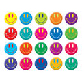 Scholastic Smiley Faces Stickers 200 Per Pack, 12 Packs