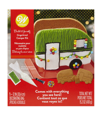 Wilton Gingerbread Kit-Camper