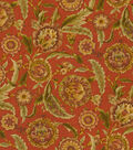 Home Decor 8\u0022x8\u0022 Fabric Swatch-Waverly Grand Bazaar/Clay