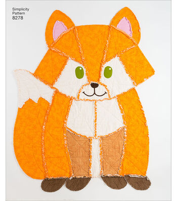 Simplicity Pattern 8278 Animal Rag Quilts
