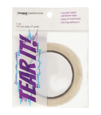 Imagine Crafts Tear It! Double-Sided Adhesive Tape 0.25''x27 yds