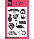 Stamps 4\u0022X6\u0022-Summer Fun, Fun In The Sun