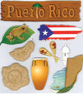 Jolee\u0027s Boutique Dimensional Embellishments-Puerto Rico