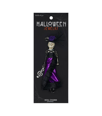 hildie & jo Halloween Doll Pendant-Day Of The Dead Music Note Jimena