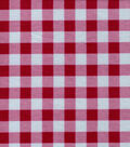 Quilter\u0027s Flannel Fabric-Red & Gray Buffalo Plaid