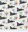 Pittsburgh Steelers Cotton Fabric 58\u0027\u0027-White