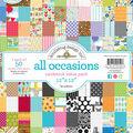Doodlebug Value Kit Cardstock 12\u0022X12\u0022-All Occasions