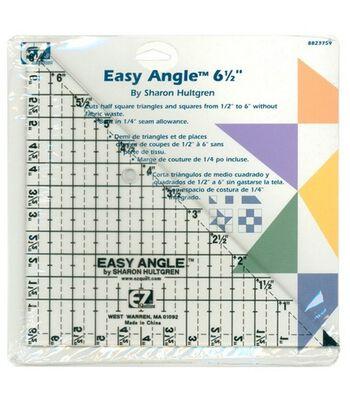 "Wrights Easy Angle Ruler 6-1/2"""