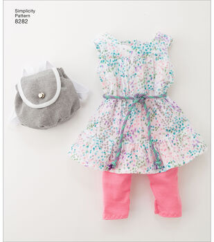 Simplicity Pattern 8282 18'' Doll American Girl Clothes