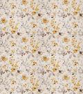 Eaton Square Upholstery Fabric 54\u0022-Goldstone/Yellow Grey
