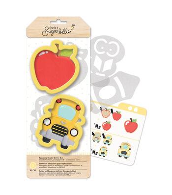 Sweet Sugarbelle Specialty Cookie Cutters Set-School