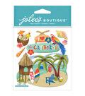 Jolee\u0027s Boutique 6 Pack Dimensional Stickers-Caribbean