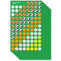 Trend Enterprises Inc. Sports Balls superShapes Stickers, 800 Per Pack
