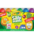 Crayola Silly Scents Washable Kids\u0027 Paint-6/Pkg
