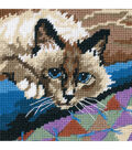 Dimensions Cuddly Cat Mini Needlepoint Kit