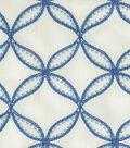 Williamsburg Lightweight Decor Fabric 52\u0022-Tanjib Emb/Ink