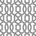 Wallpops NuWallpaper Peel & Stick Wallpaper Swatch 8x10\u0022-Black & White Uptown Trellis