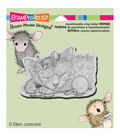 Stampendous House Mouse Cling Rubber Stamp 4.5\u0022X4.75\u0022 Sheet-Friendly Dreams