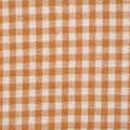 Flannel Shirting Fabric-Gold Ivory Mini Check