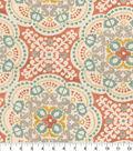 Home Decor 8\u0022x8\u0022 Fabric Swatch-Waverly Astrid Coral