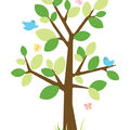 York Wallcoverings Wall Decals-Dotted Tree