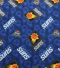 Phoenix Suns Fleece Fabric 58\u0022-Logo Toss