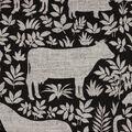 Home Essentials Home Décor Fabric- Lansbury Black