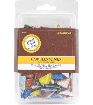 Cobblestones Solids & Glitter Mix