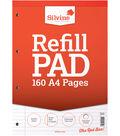 Silvine 160-sheet A4 Refill Pad