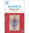 Schmetz Double Metallic Machine Needle 1/Pk-Size 3/90