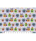 Novelty Cotton Fabric -Funny Monsters