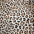 Silky Print Textured Fabric-Light Cheetah Print