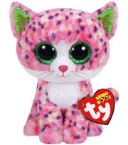 TY Beanie Boo Pink Cat-Sophie, , hi-res