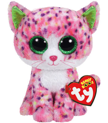 TY Beanie Boo Pink Cat-Sophie