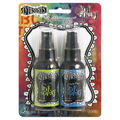 Dylusions Ink Spray 2 pack - Fresh Lime and London Blue