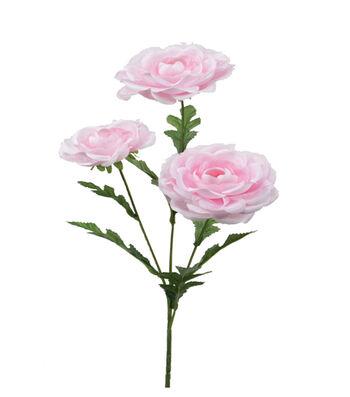 """Bloom Room 26"""" Satin Sheer Ranunculus-Pink"""