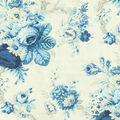 Waverly Upholstery Fabric 54\u0022-Sanctuary Rose/Cornflower