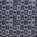 Halloween Cotton Fabric-Black Magic Cards