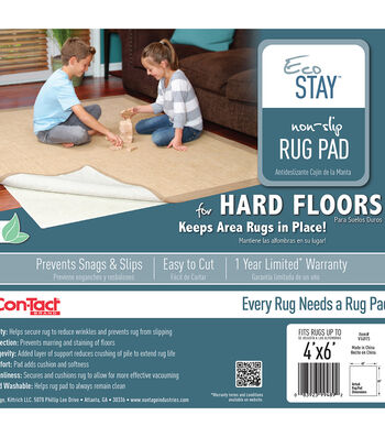 Eco-Stay Non-Slip Rug Underlay 4'X6'
