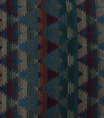 "Sportswear Jacquard Fabric 59""-Teal Diamond Aztec"