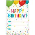 Creative Teaching Press Painted Palette Happy Birthday Award, 30/Pack