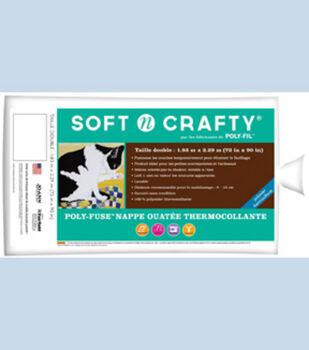 """Fairfield Soft N Crafty Poly Fuse 72""""x90"""""""