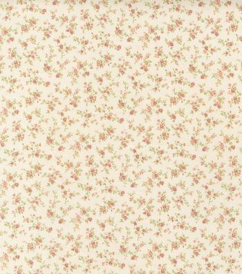 Premium Cotton Fabric 44''-Ivory
