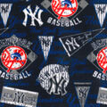 New York Yankees Fleece Fabric-Vintage