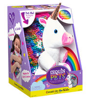 Creativity for Kids Sparkles the Unicorn Sequin Pet, , hi-res