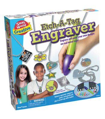 Etch-a-Tag Engraver Craft Kit