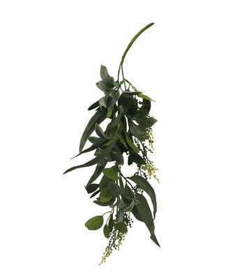 Bloom Room Artisan 23'' Leaf Hanging Bush-Green