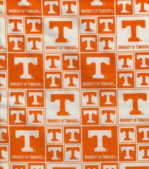 University of Tennessee Volunteers Cotton Fabric -Block
